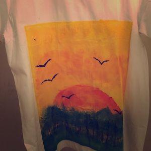 "Other - Custom Paint TShirt ""Beautiful Dawn"" Unisex"